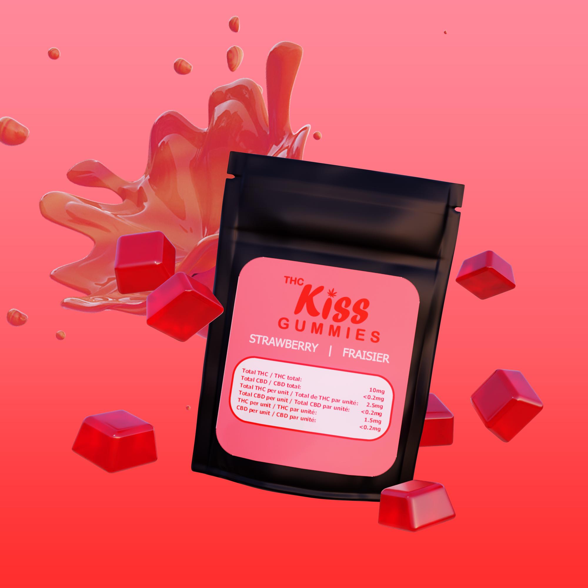 strawberry gummy imagery